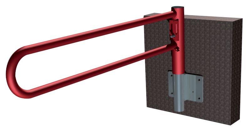 Draaihek met cilinderslot voor muurbevestiging