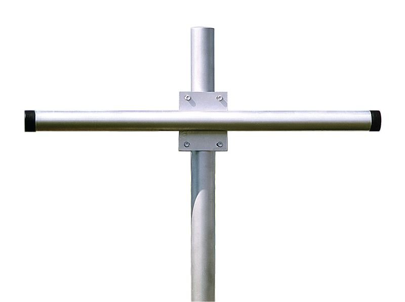 Bevestigingssteun van gegalvaniseerd staal voor 2 spiegels