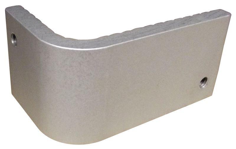 Antiskateboardplaatjes van aluminium