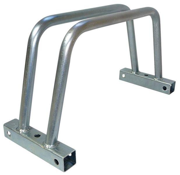 Modulaire fietsklem voor grond- of muurbevestiging