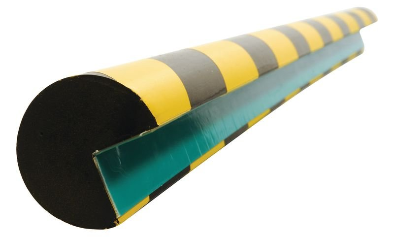Stootrand van polyurethaanschuim - hoek van 30 mm