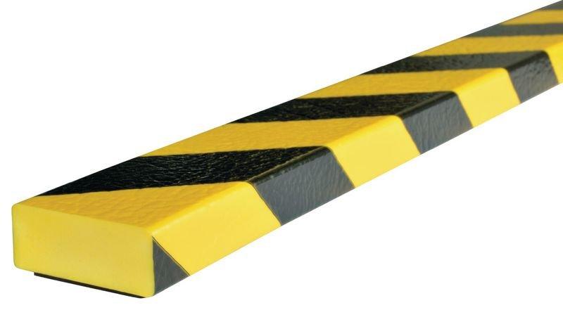 Magnetische, platte stootrand Optichoc, gearceerd - oppervlak van 50 mm