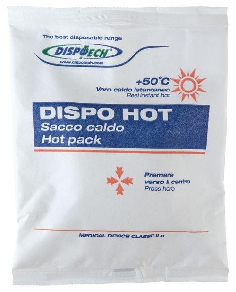 Hot pack voor éénmalig gebruik