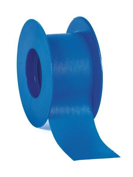 Blauwe hechtpleisters van plastic op rol