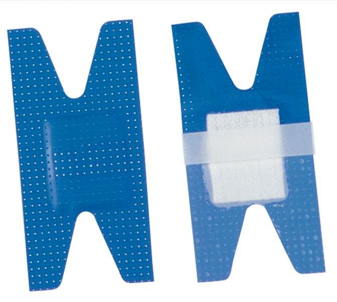 Assortiment van 25 detecteerbare pleisters met H-vorm