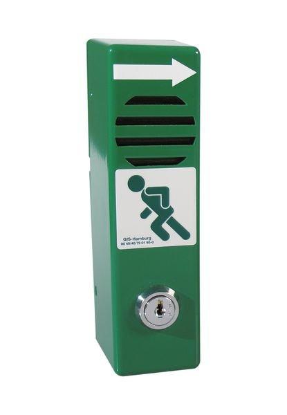 Compact alarm voor deurklink van nooduitgang