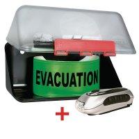 Kit voor evacuatie