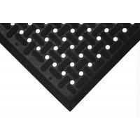 Ringmat met traanplaatprofiel voor voedingsindustrie