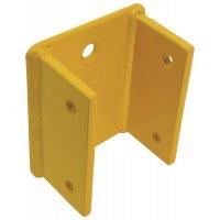 Muurbevestiging voor modulaire veiligheidsrailing