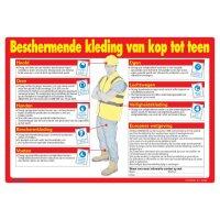 Veiligheidsposters - Beschermende kleding van top tot teen