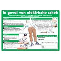 EHBO-posters - In geval van elektrische schok