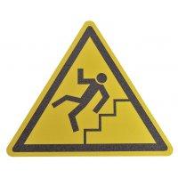 """Antislipstickers voor vloer """"Gevaarlijke trap"""""""