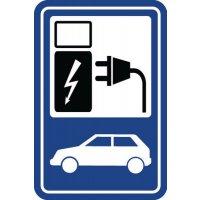 """Parkeerbord """"laadpunt elektrische auto"""""""