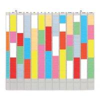 Planborden voor jaarplanning, met T-kaarten