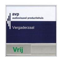 Personaliseerbare deurborden - Bezet/Vrij