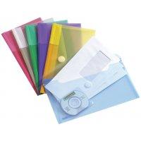 Gekleurde documentbeschermers