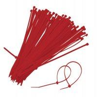 Kabelbinders van gekleurde kunststof