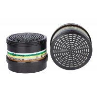 Filters voor halfgelaatsmaskers met enkele filter