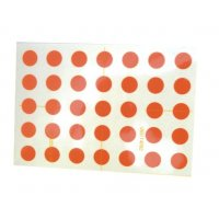 Ronde rub-on mini-stickers