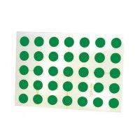 Ronde rub-on mini-stickers
