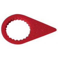 Torsie-indicator van plastic voor loskomende moeren