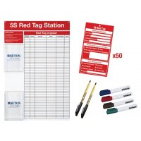 Kit met red tag station en tags