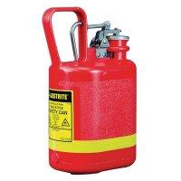 Veiligheidskannen van polyethyleen voor ontvlambare producten