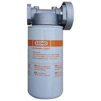 Complete filter voor de tank voor diesel, hydraulische oliën en koelvloeistof