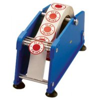 Stickerdispenser met zuignappen