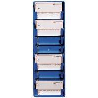 Gekleurd wandopbergsysteem voor ISO-badges