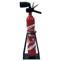 Verplaatsbare houder voor brandblusser