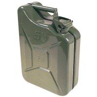 Stalen jerrycan voor transport benzine en ontvlambare stoffen