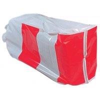 Hoes voor strobalen van PVC