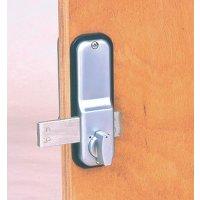 Mechanisch deurslot met code
