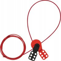 Universeel 2-in-1 vergrendelingssysteem met nylon kabel