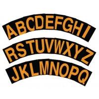 Stickers met reflecterende letters of cijfers