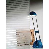 Decoratieve raamfolie op rol, met matte of witte lijnen