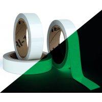 Kit 2 rollen fotoluminescente tape voor deuren en gangen + 1 gratis