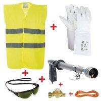 Premium kit voor thermoplastische vloermarkering