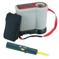 Spanningsdetector met stroombegrenzer voor laagspanningsbord