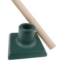 Promopakket: stamper + houten steel er gratis bij