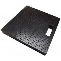 Stabilisatieplaat met antislip oppervlak en handgreep