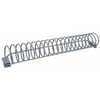 Eenvoudig fietsenrek in spiraalvorm