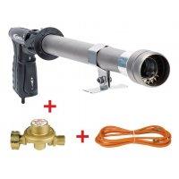 Kit: gasbrander, drukregelaar en kabel