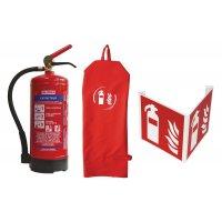 Kit waterblusser, brandklasse A en B met signalering