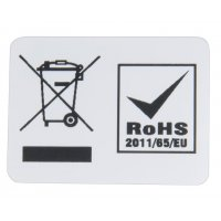 Etiket AEEA- en RoHS-markering