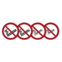 """Harde stickers met animatie SETON MOTION® """"Verboden te roken"""""""