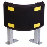 Stevige afscherming op poten van elastomeer en gegalvaniseerd staal PARGUM