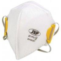 Wegwerp FFP2-stofmasker JSP® Olympus® Foldflat, verticaal opvouwbaar