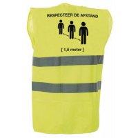 Veiligheidshesje - Respecteer de afstand [1,5 meter]